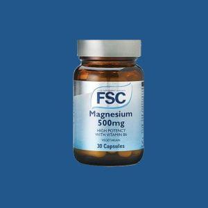 FSC Magnesúm inniheldur magnesium oxíð