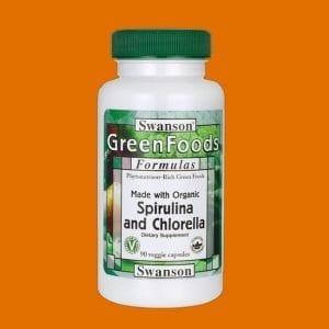 Swanson Organic Spirulina & Chlorella