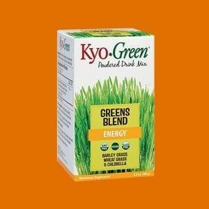 KYO • GREEN Vegan duftblandan inniheldur einstaka blöndu af ofurfæði sem veitir gott jafnvægi fyrir næringarbúskap líkamanns. *